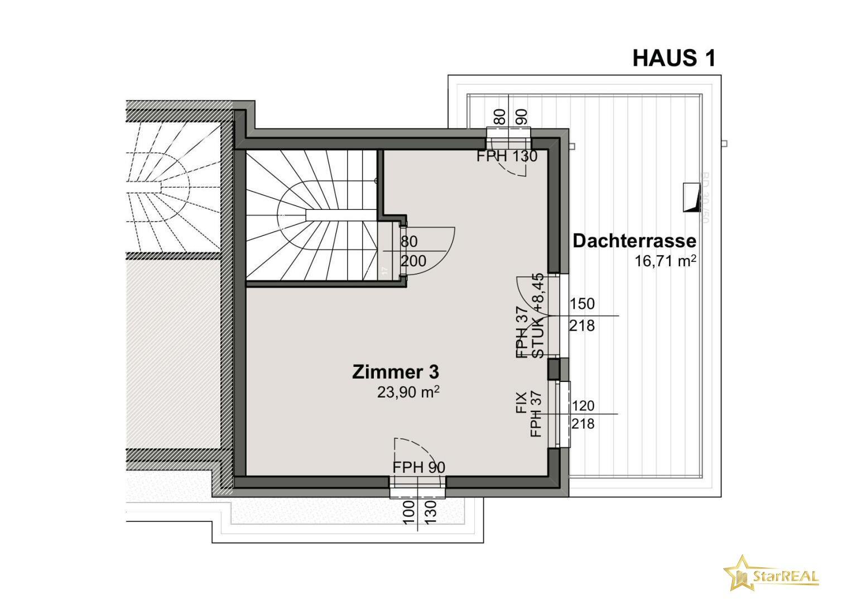 HAUS 1 Dachgeschoss