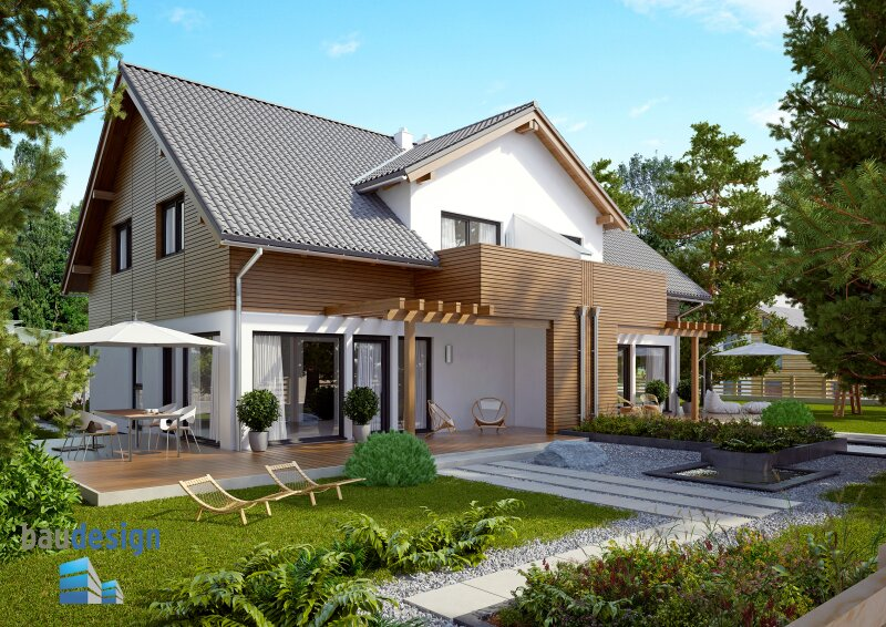 Bisamberg - NEUES PROJEKT - wunderschönes Doppelhaus