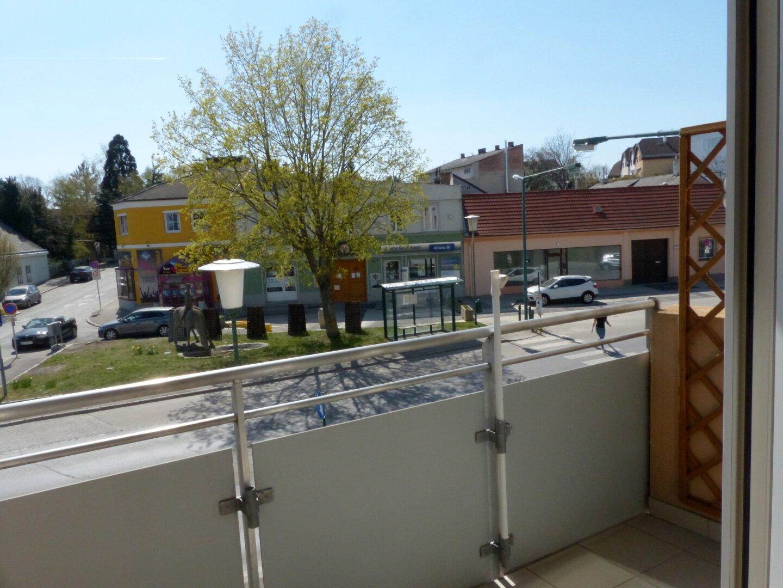 Ausblick WZ und Balkon