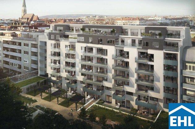 An der Alten Donau: Dachgeschoss Eigentumswohnung direkt am Wasser