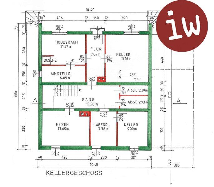 Großzügig angelegtes Einfamilienhaus im Grünen Objekt_679 Bild_136