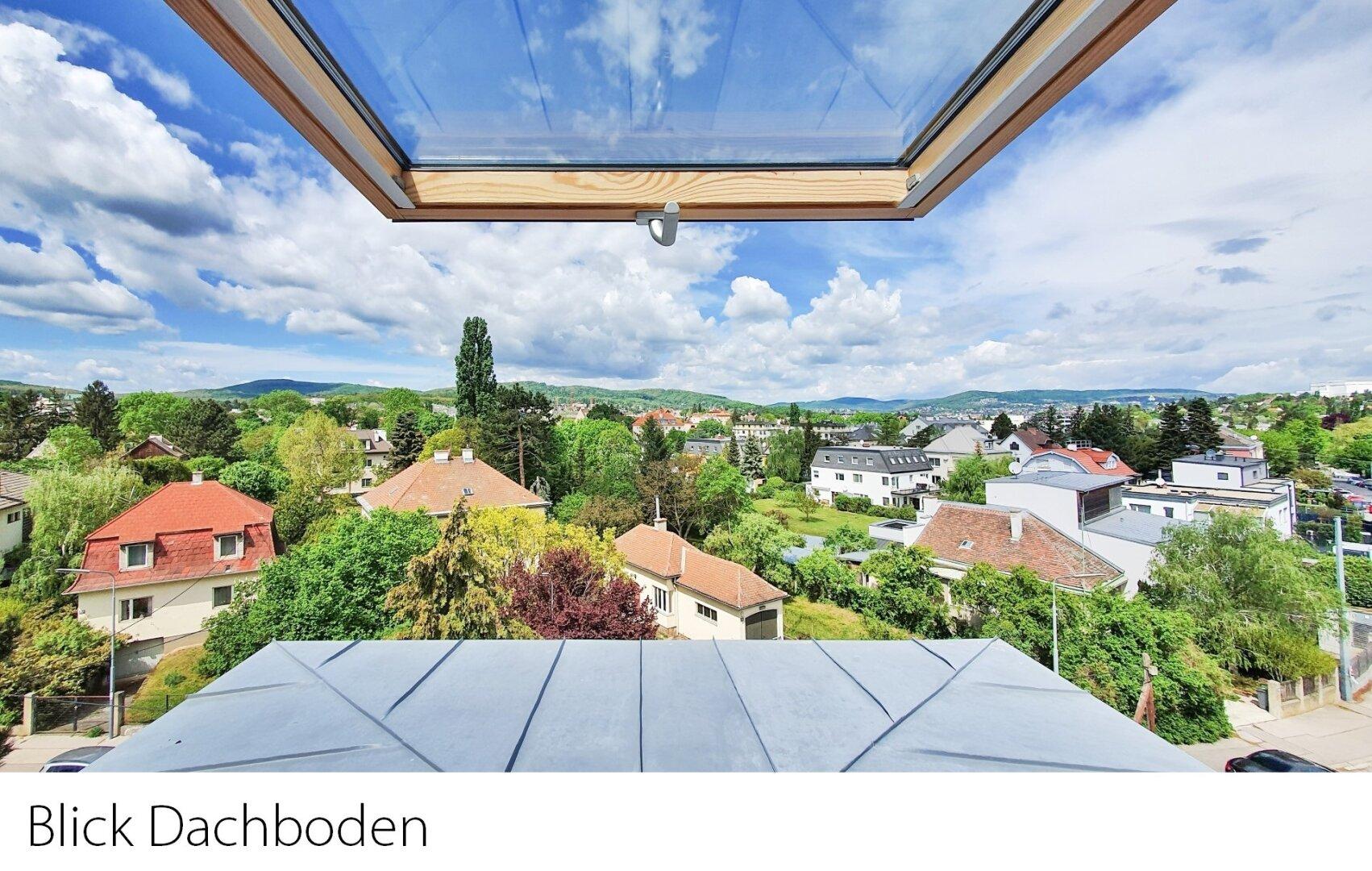Blick Dachboden