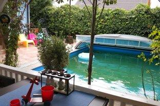 Einfamilienhaus mit Garten + Pool + Sauna + Garage +++