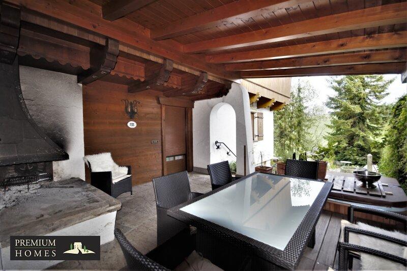 Breitenbach am Inn - Elegantes Landhaus - Terrassen-Ansicht Richtung Süden