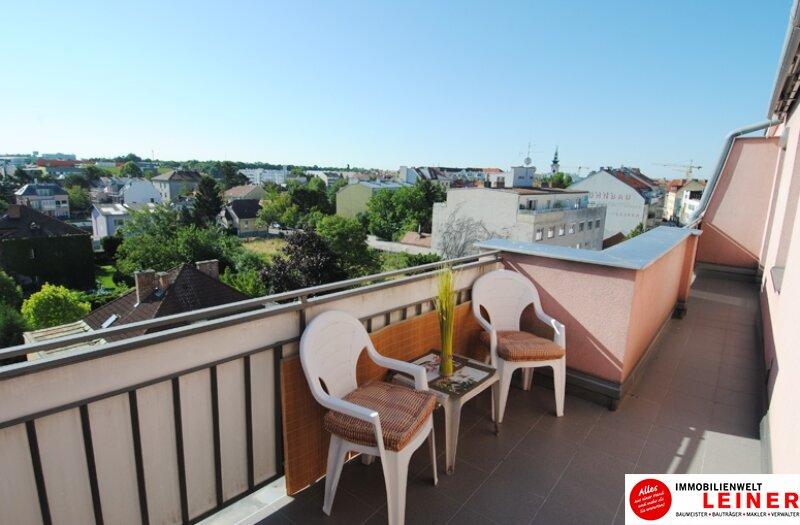 Schwechat - wunderschöne, vollmöblierte 2 Zimmer Mietwohnung mit 16m² Dachterrasse in bester Lage! Objekt_8848 Bild_811