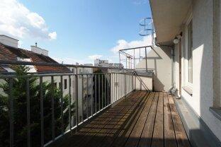 Dachgeschoßmaisonette mit Sonnenterrasse