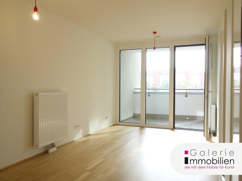 Schöne, helle Loggia-Erstbezugwohnung mit 2 Zimmern und optionaler Garage an der U3! Objekt_31327