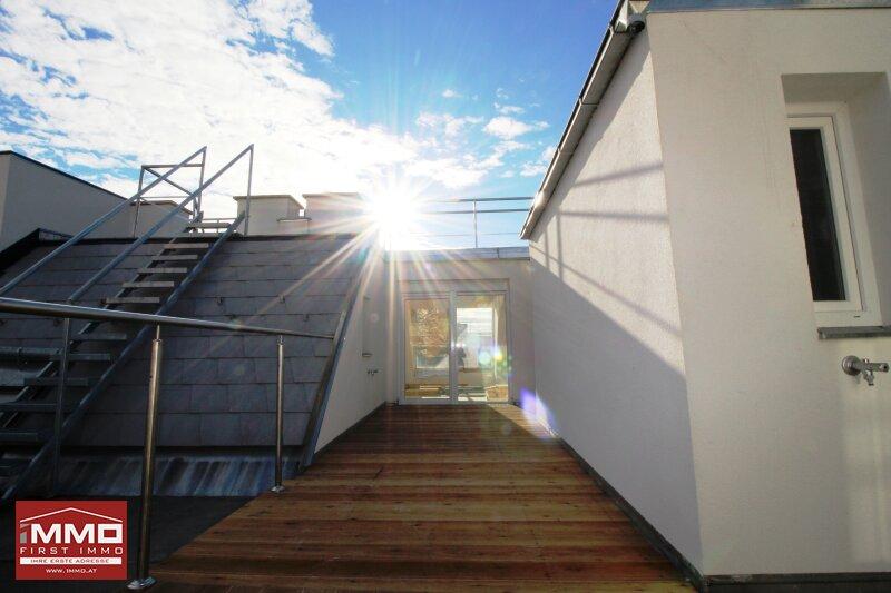 *^* Wunderschöne helle Dachgeschossmaisonette inklusive Weitblick und ruhiger Terrasse, nach eigenen Wünschen und Ideen fertigstellen *^* /  / 1140Wien / Bild 2