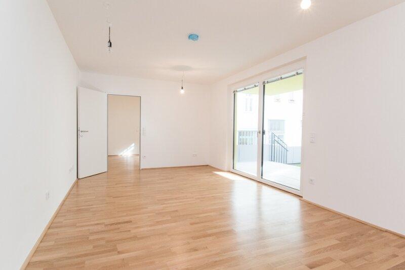 Erstbezug! Elegante 2-Zimmer Wohnung mit Balkon und Garten im 5. Bezirk!