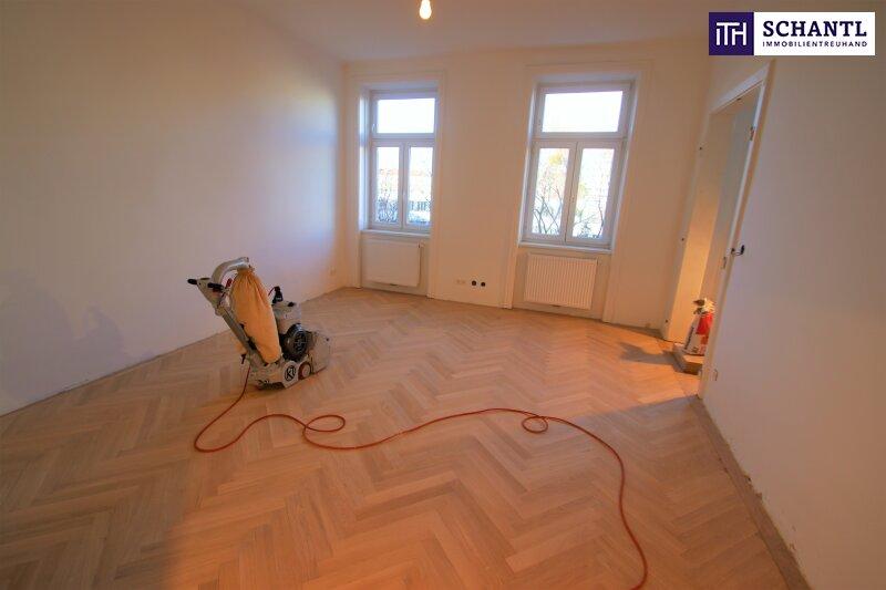 Klassische Altbauwohnung mit perfekter Raumaufteilung! Erstbezug in 1020 Wien! Worauf warten Sie noch?