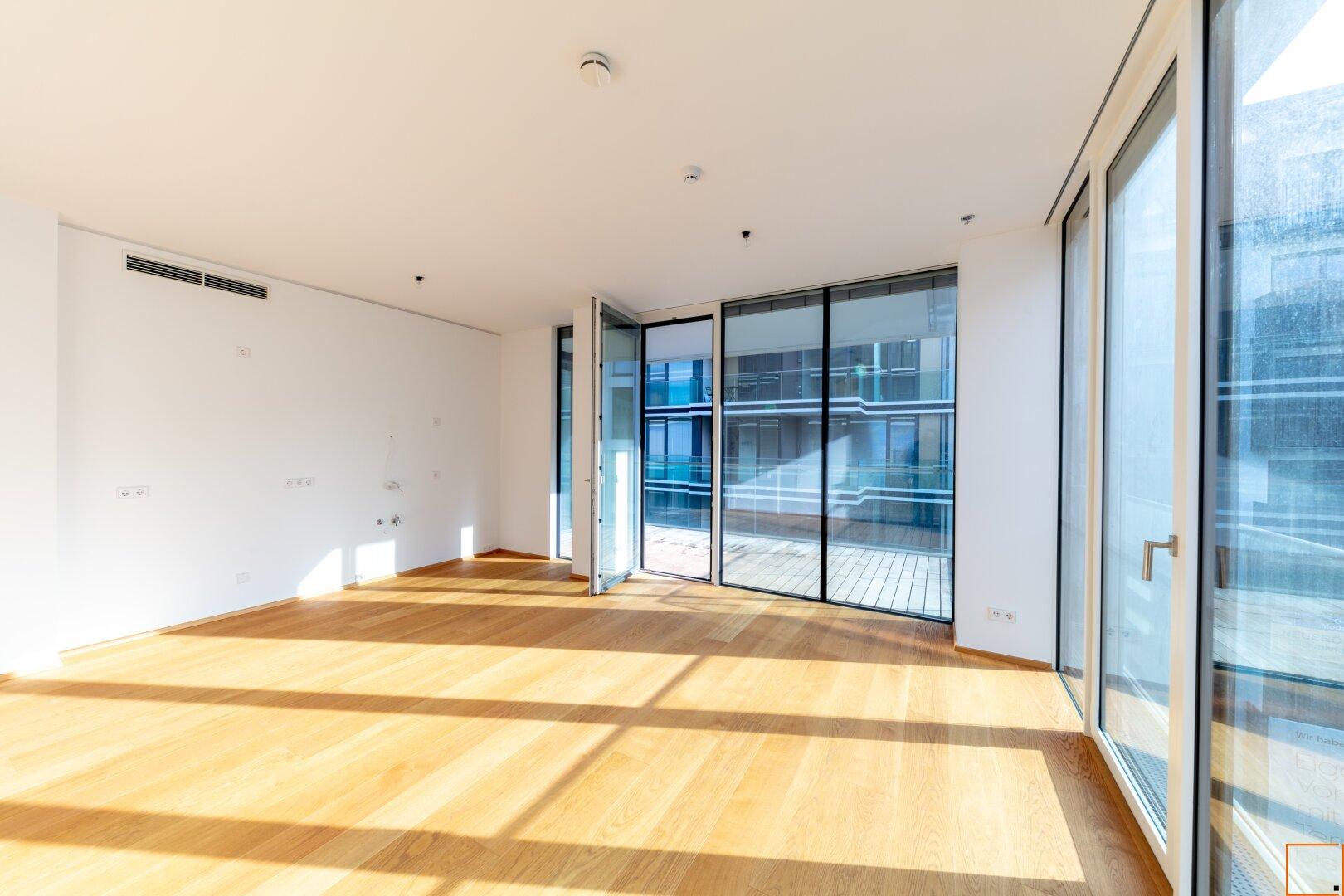 Wohnküche mit Ausgang zur Terrasse