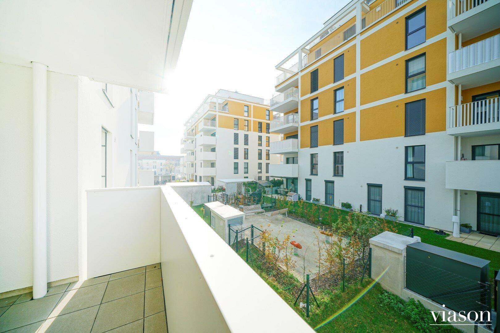 Loggia/Balkon Ausblick