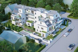 Exklusiv: Attraktive Dachgeschosswohnung - In Strebersdorf am Fuße des Bisambergs