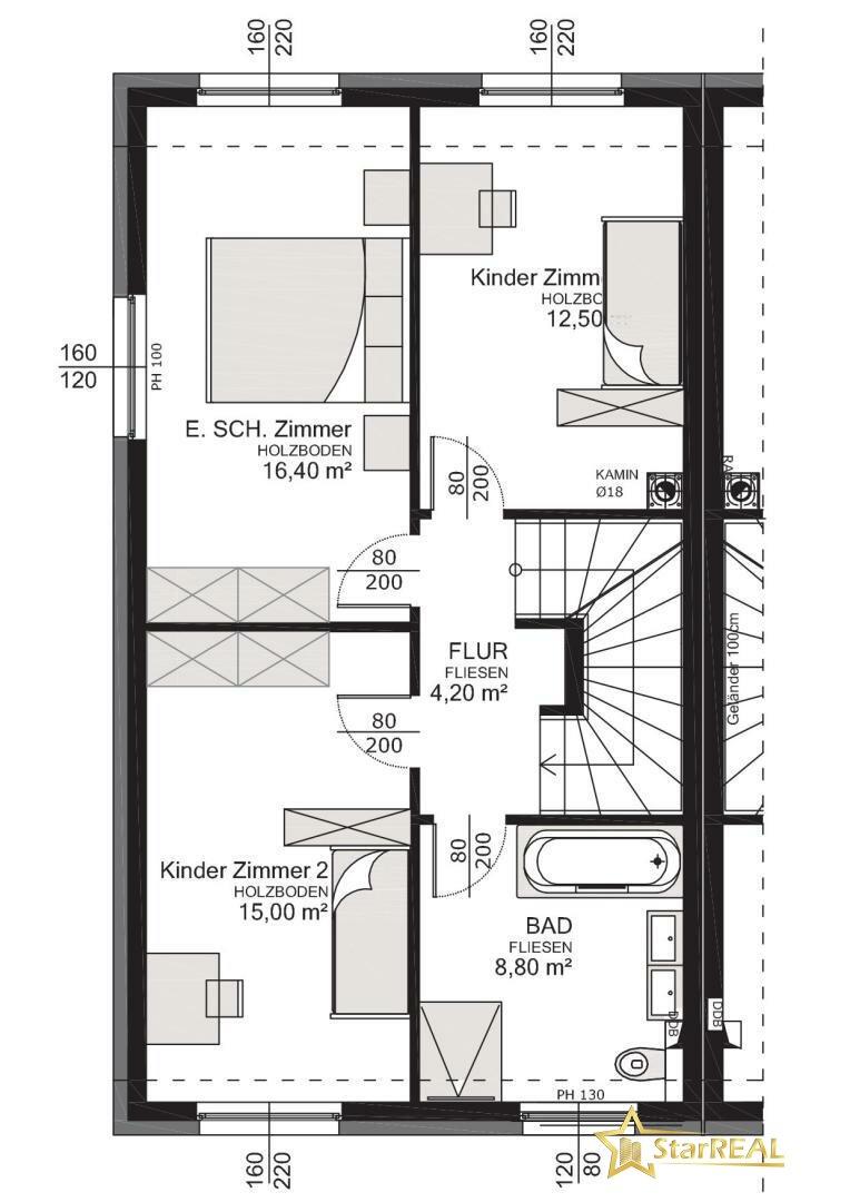 HAUS 5 Obergeschoss