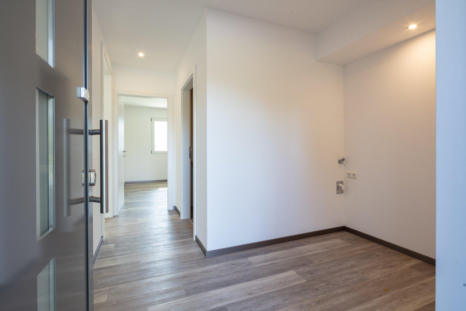 Vorraum u. Gang einer 46 m² Wohnung