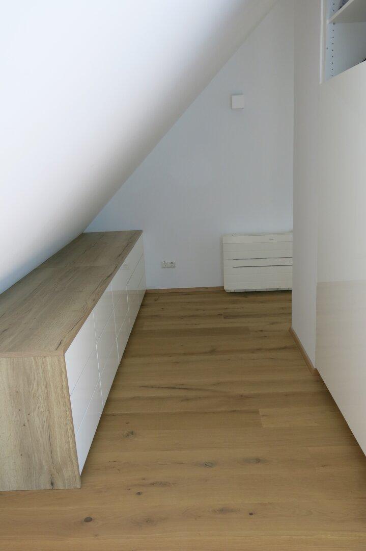 Maisonette Kufstein, Schrankeinbauten Schlafzimmer