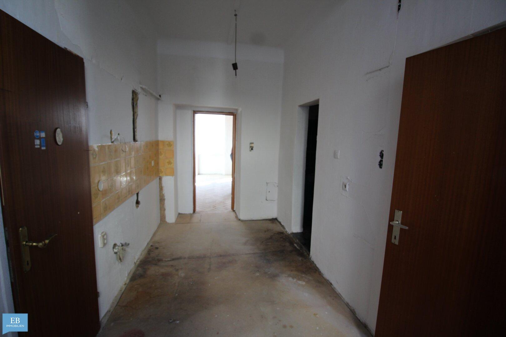 Vorzimmer mit Küche