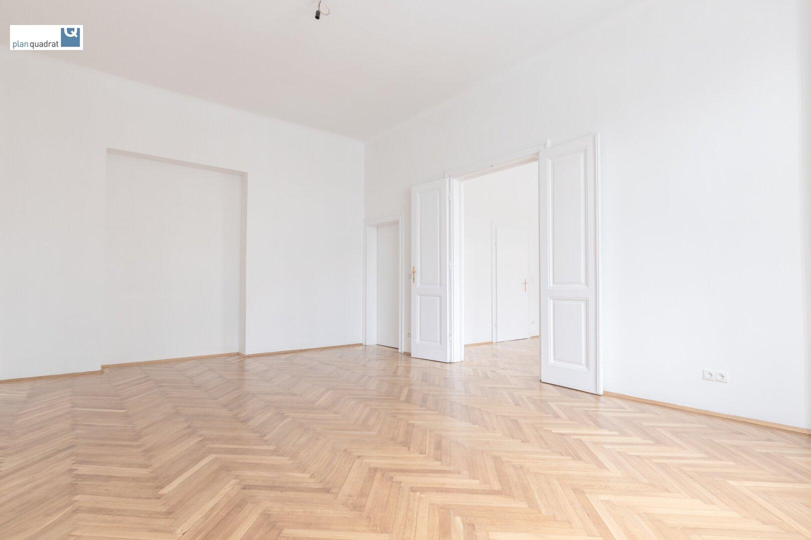 Zimmer 1 (gem. Plan; ca. 27,75 qm)