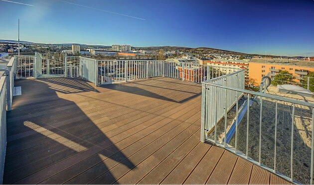 Foto von NEU! ++ Erstbezug nähe U4 (Unter-St.-Veit): 3 Zimmer DG- Wohnung mit 2 Terrassen + Dachterrasse mit herrlichem Wienblick, 1140 Wien (Top 16) ++