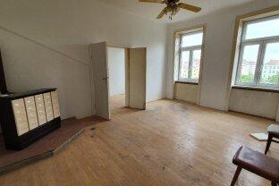 Mortaraplatz - 80 m2, 4 Zimmer, teils sanierungsbedürftig! WG-geeignet!