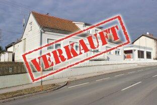 ERFOLGREICH VERMITTELT - Wohnhaus mit ehem. Erzeugungsbetrieb und Hallen