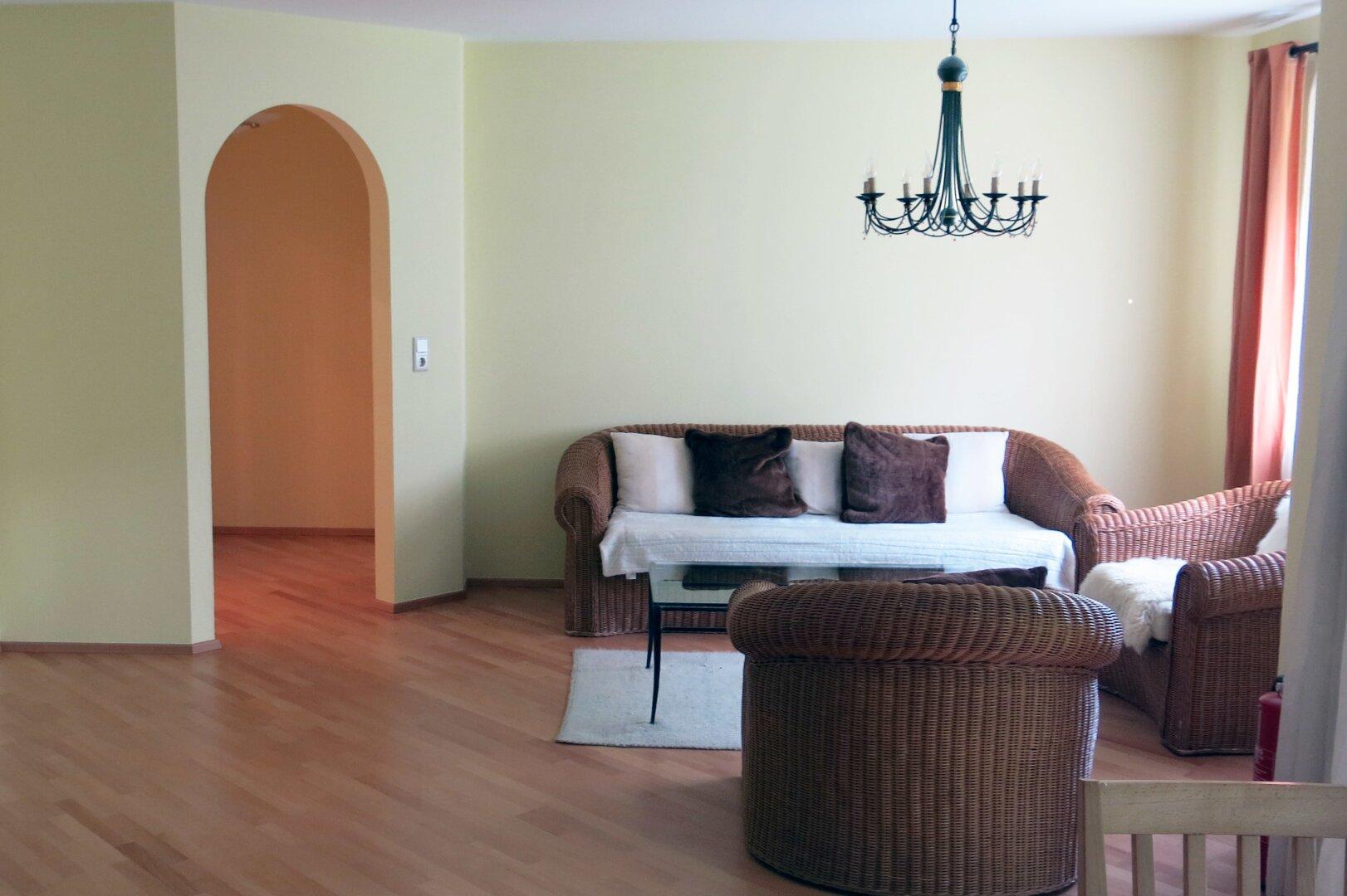 Wohnbereich Ansicht 2, 3-Zimmer Mietwohnung Kufstein