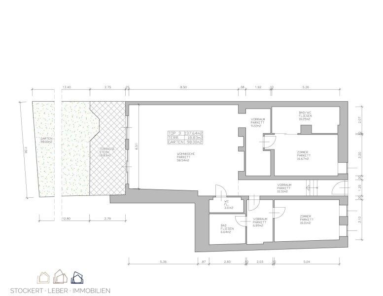 Gartenwohnung im Stadtzentrum /  / 2340Mödling / Bild 8