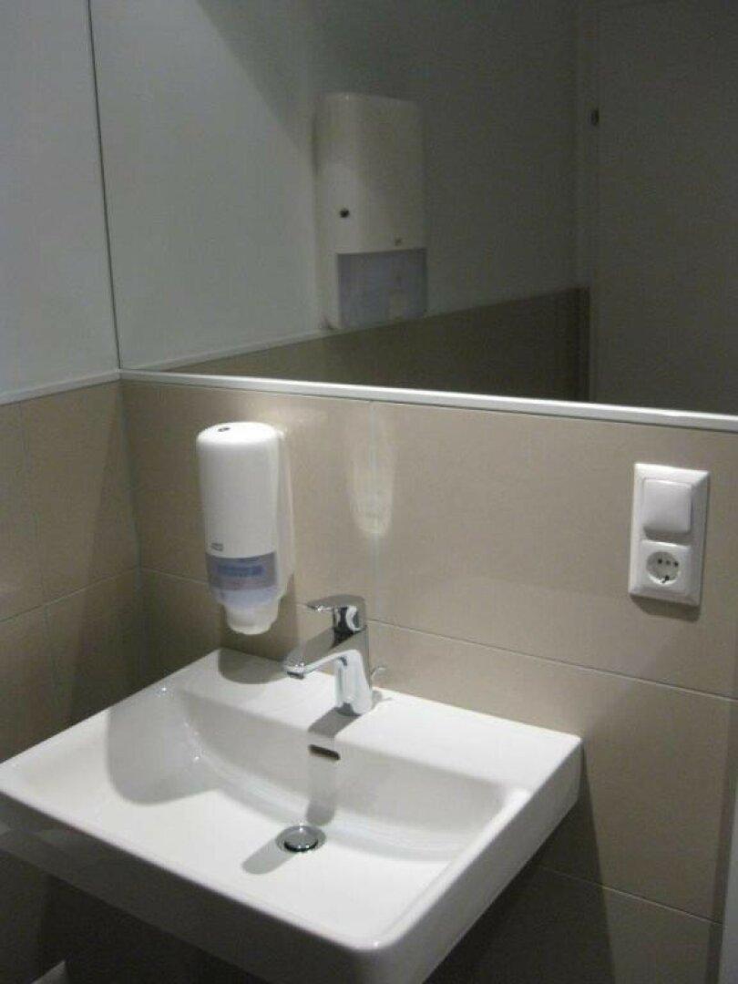 Neue, moderne Sanitärgruppen