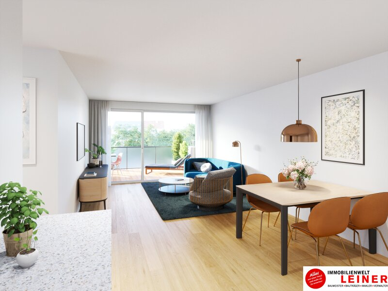 Eigentum ist Eigentum - 2 Zimmer Eigentumswohnung - Provisionsfrei - Terrasse - Loggia Objekt_15333