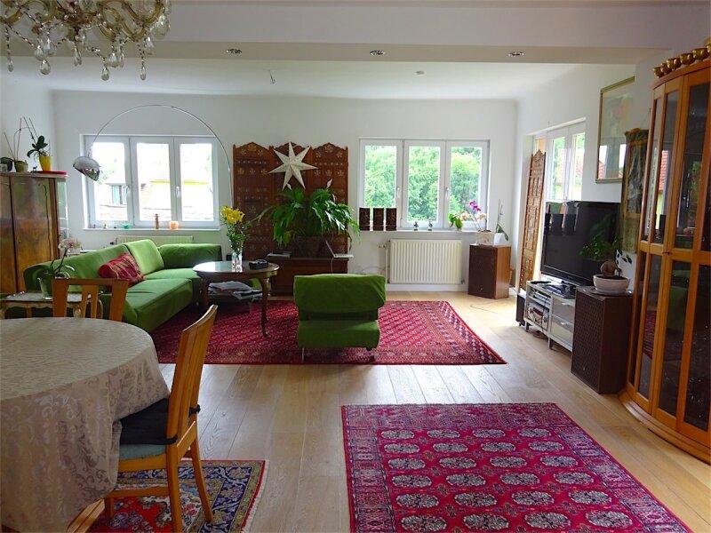 Grundstück mit Haus in herrlicher Grünruhelage, 730 m2,  modernisiertes Fachwerkhaus, Anbau oder zusätzlicher Bau möglich, Linie 43! /  / 1170Wien / Bild 4