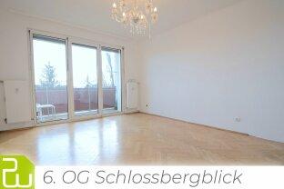 Wunderschöne renovierte Neubauwohnung mit Schlossbergblick
