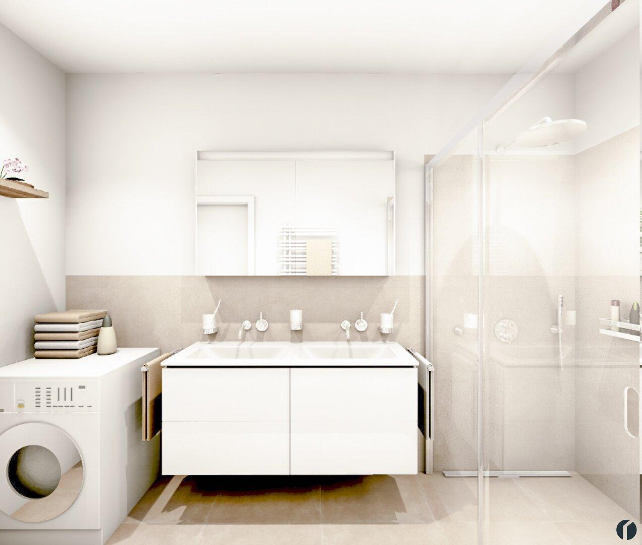 Badezimmer Planung für Top1