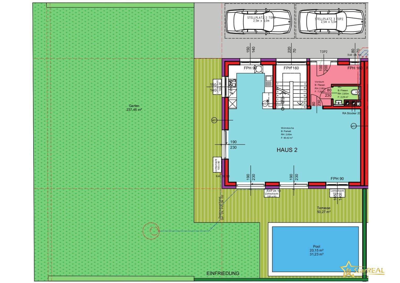 Haus 2 LAGEPLAN