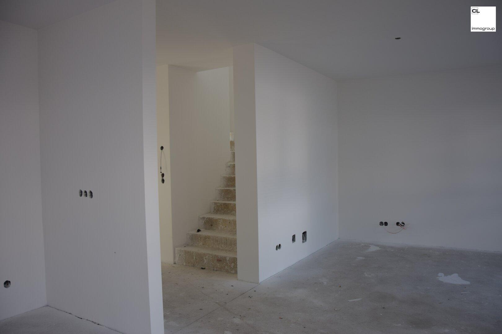 Treppen Vorzimmer Wohnraum - Ansicht
