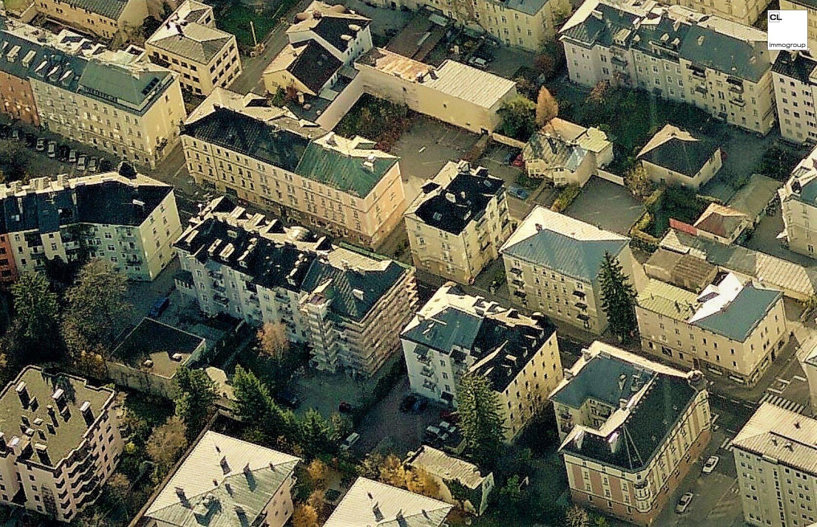 Luftbild Gabelsbergerstraße