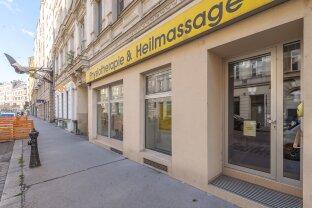 MIETKAUF: Geschäftslokal/Praxis an gut frequentierter Hauptstraße nahe U4 Pilgramgasse