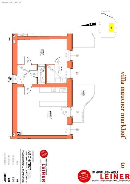 Schwechat - Mietwohnung 2 Zimmer mit großem Balkon  -  stilvoll wohnen in der geschichtsträchtigen Villa Mautner Markhof! /  / 2320Schwechat / Bild 9