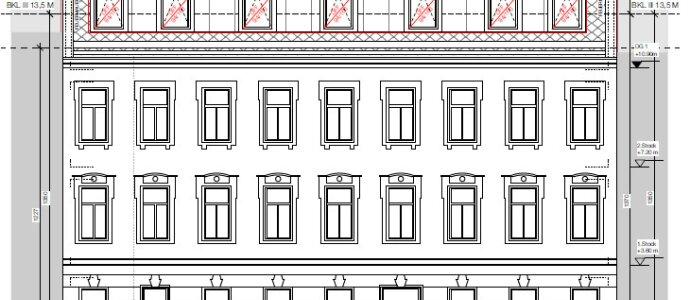 Baubewilligtes Projekt für drei toll geplante Wohnungen - Dachterrassenwohnungen mit Fernblick!