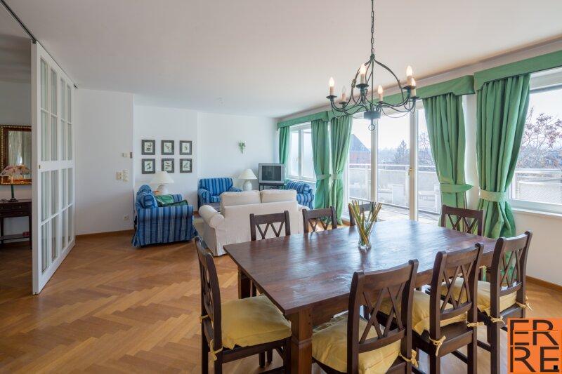 fully furnished terrace apartment - vollmöblierte Terrassenwohnung mit 5 Zimmern in bester Lage