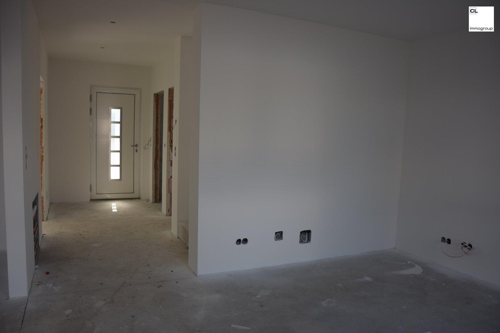 Vorzimmer und Wohnraum - Ansicht