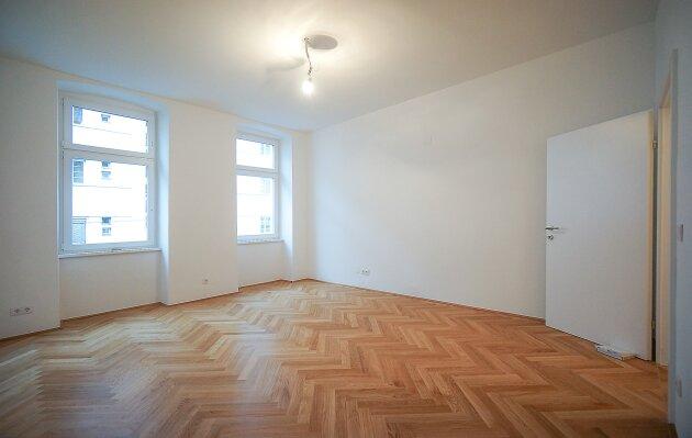 Foto von NEU! ++ 2 Zimmer-Altbauwohnung RENOVIERT und sehr ruhig gelegen (Top 18-19) ++
