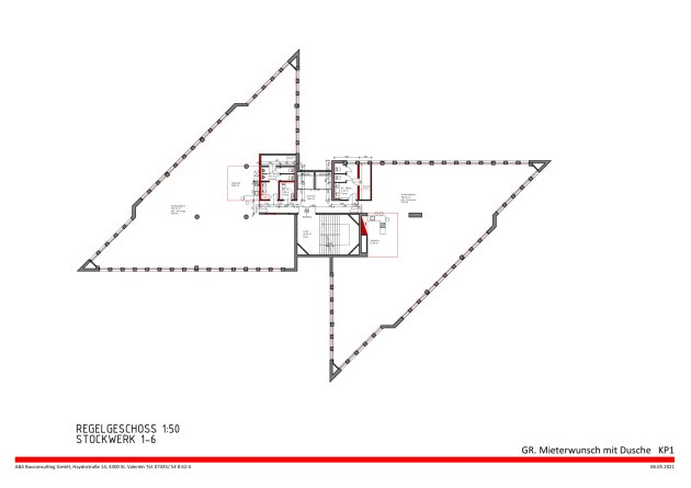 DIREKT VOM EIGENTÜMER - Bürohaus Wien Nord/ Floridsdorf - INNENAUSBAU NACH WUNSCH