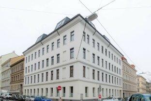 Hoch hinaus in Margareten - Atemberaubender Ausblick über Wien und hofseitige Terrasse! WNF 171,94 m² + Terrasse: ca. 22,59 m²
