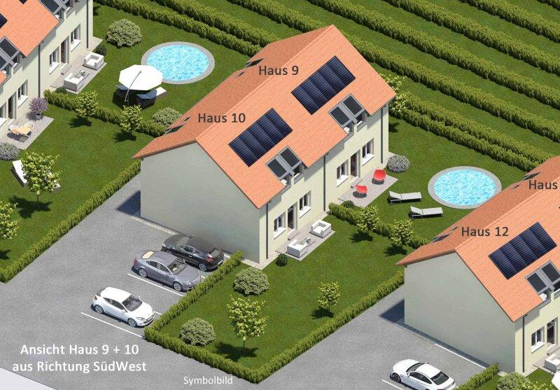 """VERKAUFT! Sonnige Doppelhaushälfte mit großem Garten (Haus 9 """"zum Rebstock"""")"""