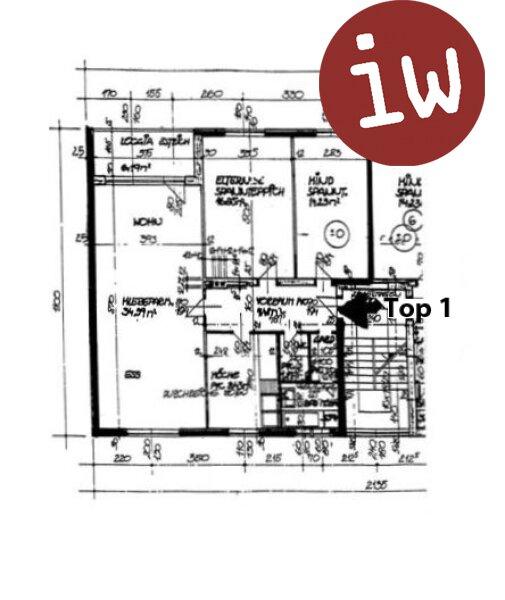 Großzügige 3-Zimmerwohnung in Top.Zentrumslage Objekt_523 Bild_244