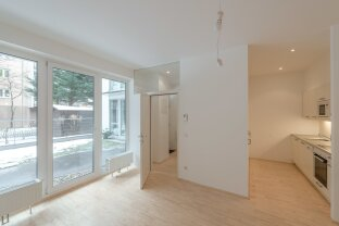 2 Zi-Wohnung mit Terrasse in der Kaiserstraße 68 ab Februar! (Erdgeschoß Hofseitig)