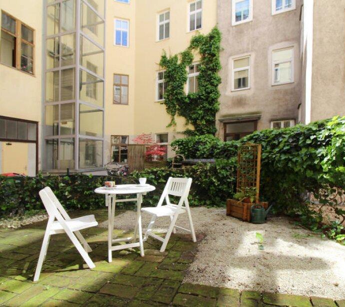 Singlewohnung zum Chillaxen: Zentrumsnahe 38m²-Gartenwohnung!