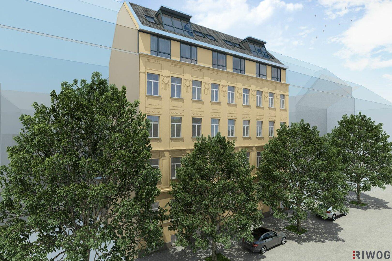 ++ Erstbezug Dachgeschosswohnugen mit Terrasse + komplett sanierte Altbauwohnungen mit Außenflächen ++ (Projektansicht)