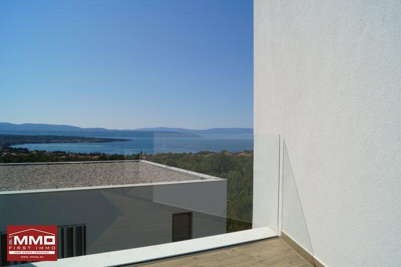 Design-Insel-Traumhaus mit Panorama-Blick auf die Kvarner Bucht /  / 51511Sveti Vid-Miholjice / Bild 9