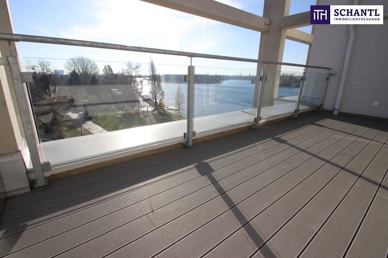 Zu Hause im Urlaub! Erstbezug im Dachgeschoss auf zwei Ebenen mit 4 Terrassen! Provisionsfrei!!! /  / 1220Wien / Bild 8